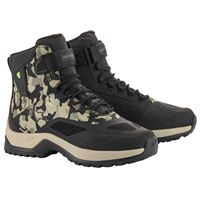 Alpinestars cr 6 drystar riding eu 43 black military / green camo / sand