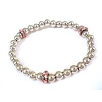 UNOAERRE bracciale UNOAERRE con argento e cristalli rosa
