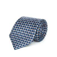 Lanieri cravatta su misura, Lanieri, incastro blu, quattro stagioni