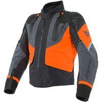 Dainese giacca sport master gtx nero arancio ebano