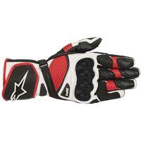 Alpinestars guanti sp-1 v2 nero bianco rosso