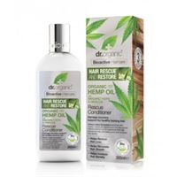 Dr. Organic balsamo riparatore capelli rescue conditioner organic hemp oil 265 ml