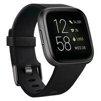 Fitbit versa 2 smartwatch nero/grigio amo. Led 1,4