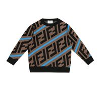 Fendi Kids pullover ff in lana