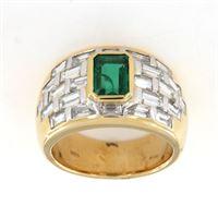 Crivelli anello fascione smerdarlo diamanti crivelli