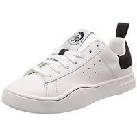 DIESEL s-clever low w, scarpe da ginnastica basse donna, bianco (h1527 h1527), 38 eu