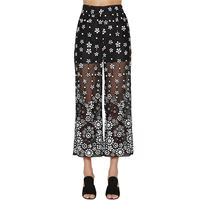 SELF-PORTRAIT pantaloni con paillettes
