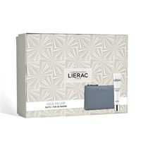 Lierac cofanetto cica filler crema 40ml + pochette in pelle rue des fleurs