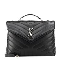 Saint Laurent borsa loulou monogram medium in pelle
