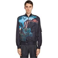 VALENTINO bomber dragon in nylon