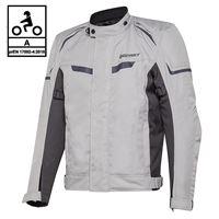 BEFAST giacca moto befast berg ce certificata nero grigio