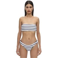 EBERJEY top bikini retro a costine