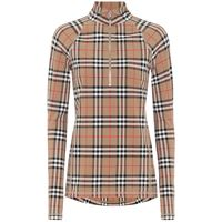 Burberry top stretch a quadri