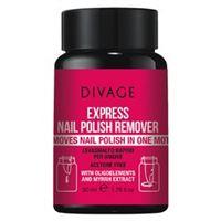Divage prodotto unghie Divage express nail polish remover 50 ml