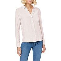 Wrangler 1 pkt stripe shirt camicia, rosso (bittersweet red xbo), x-small donna