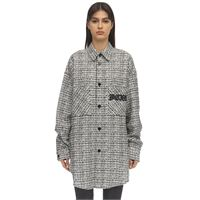 FAITH CONNEXION giacca oversize in tweed