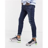 Levis levi's - youth 519 hi-ball - jeans super skinny con lavaggio scuro can can advanced stretch-blu