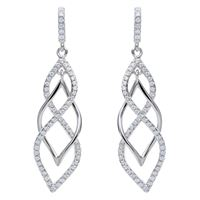 Stroili orecchini argento 925 e zirconi