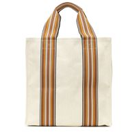 Loro Piana borsa the suitcase stripe medium in tessuto