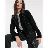 Vero Moda - giacca nero scamosciato