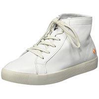 Softinos sali583sof, sneaker a collo alto donna, bianco (bianco 001), 37 eu