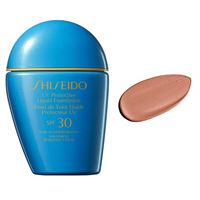 Shiseido Suncare shiseido sun protection uv protective liquid foundation spf30 n. Sp70 dark ivory