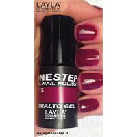 Layla one step gel nail polish n. 15 blueberry