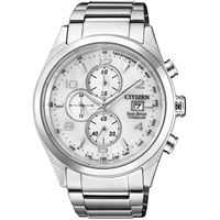Citizen orologio cronografo uomo Citizen super titanio ca0650-82a