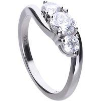 Diamonfire anello donna gioielli Diamonfire classic 61/1915/1/082/160