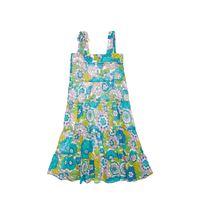 DODO BAR OR vestito midi in cotone stampato