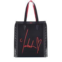 Christian Louboutin shopper cabalace small con pelle