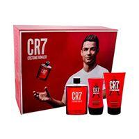 Cristiano Ronaldo cr7 confezione regalo eau de toilette 100 ml + doccia gel 150 ml + balsamo dopobarba 100 ml uomo