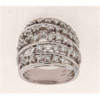 Crivelli anello fascione diamanti crivelli