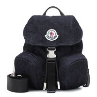 Moncler zaino dauphine mini in denim