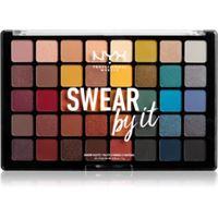NYX Professional Makeup swear by it palette di ombretti 40 x 1 g