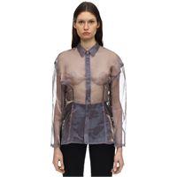 AMBUSH camicia in organza trasparente