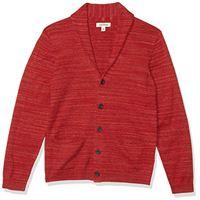 Goodthreads soft cotton cardigan summer sweater sweaters, grigio, m