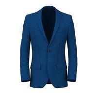 Lanieri blazer da uomo su misura, vitale barberis canonico, blu lana seta lino, quattro stagioni | Lanieri
