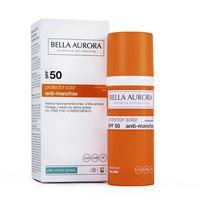 Bella Aurora gel solare anti-macchie spf50 pelle mista / grassa gel solare 50ml