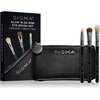 Sigma Beauty glam n go set di pennelli con custodia