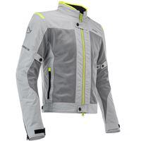 ACERBIS giacca acerbis ce ramsey vented grigio