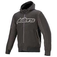 Alpinestars rhod windstopper full zip sweatshirt xxxl melange black