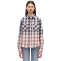 AMIRI camicia in flanella di lurex stretch