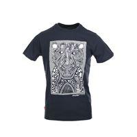 RRD t-shirt uomo mezza manica stampa cheetah