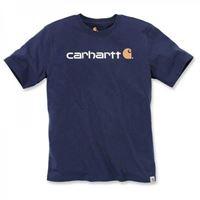 Carhartt - t-shirt Carhartt core logo blu