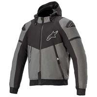Alpinestars sektor v2 tech full zip sweatshirt xxxl melange dark grey / black