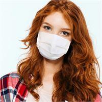Mascherina di cotone riutilizzabile antimicrobica e idrorepellente