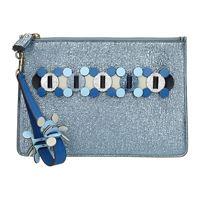 Anya Hindmarch pochette Anya Hindmarch donna blu
