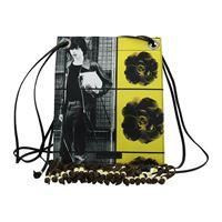 Jw Anderson borse a tracolla donna tessuto giallo one size