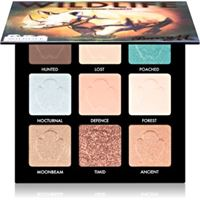 Barry M wildlife palette di ombretti colore rhino wlep4 9 x 1, 4 g